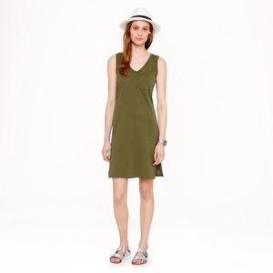 JCrew Sleeveless Pocket T-shirt Dress